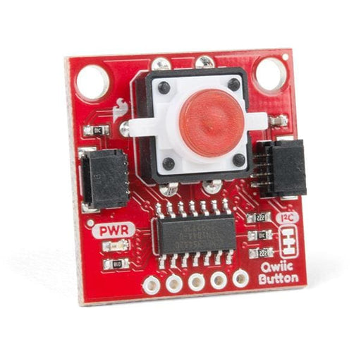 Qwiic Button - Red LED - Qwiic