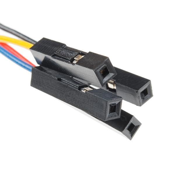 Qwiic Cable - Female Jumper (4-Pin) (Cab-14988) - Cables And Adapters