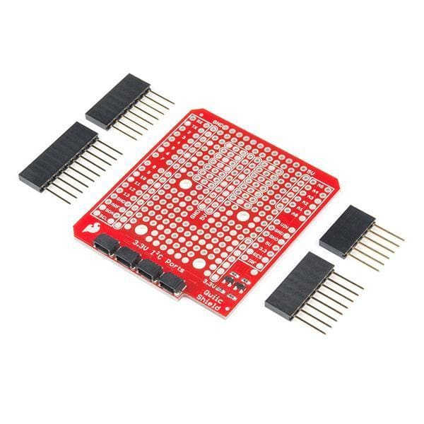 Qwiic Shield For Arduino (Dev-14352) - Shields