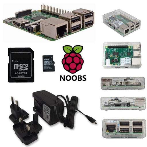 Raspberry Pi 3 Model B+ Value Barebones Kit - Raspberry Pi Kits