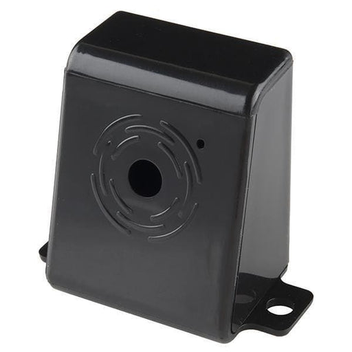Raspberry Pi Camera Case - Black Plastic (Prt-12846) - Raspberry Pi Enclosures