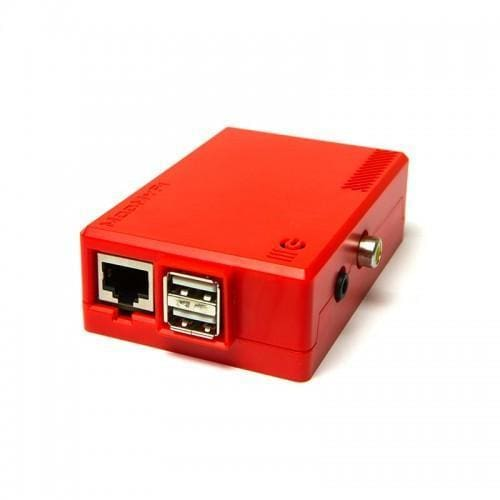 Raspberry Pi Case (Red) - Raspberry Pi