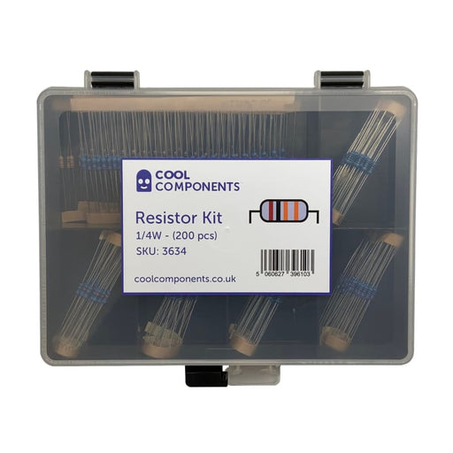 Resistor Kit - 1/4W - Component