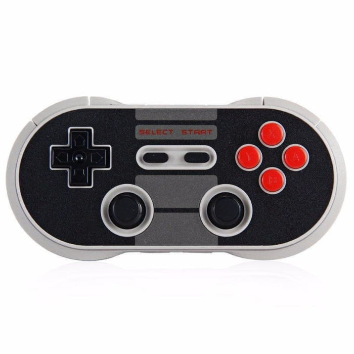 Retro 8Bitdo NES30 Pro Wireless Bluetooth Controller Dual Classic Joystick for iOS Android Gamepad PC Mac - Accessories