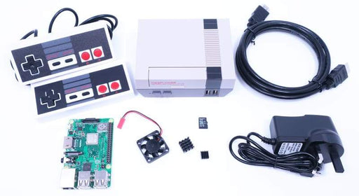 Retro Gaming Bundle (Includes Nes Case & Raspberry Pi) - Raspberry Pi Kits