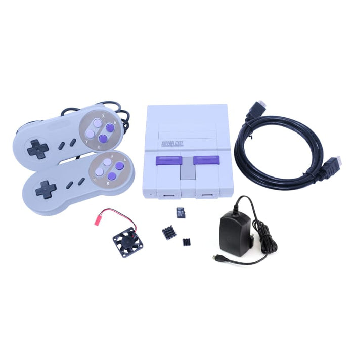 Retro Gaming Bundle (SNES) - for Raspberry Pi 3 Model B/B+ - Component