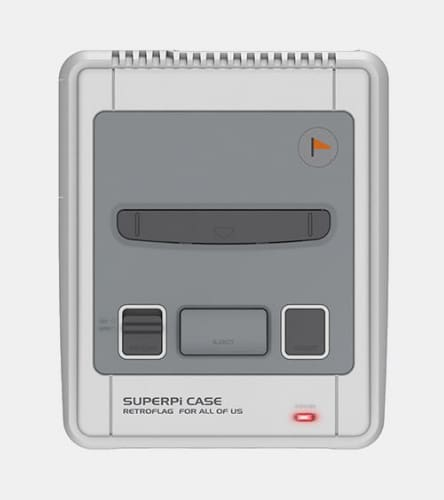 Retroflag Superpi Snes Case For Raspberry Pi 3 2 And B+ - Raspberry Pi Enclosures