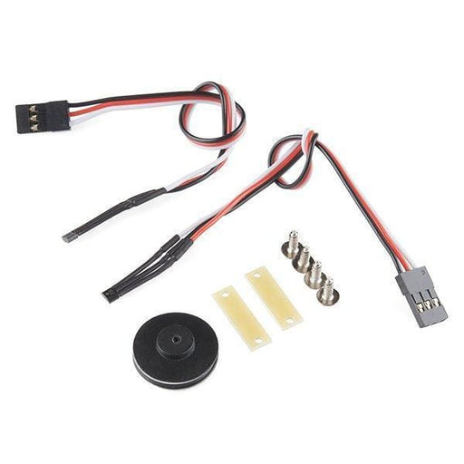 Robot Wheel Encoder Kit (Rob-12629) - Hardware