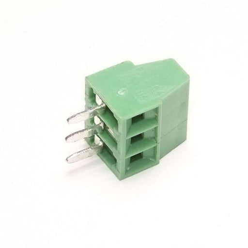 Screw Terminal Block - 2.54Mm Pitch (3-Pin) - Connectors