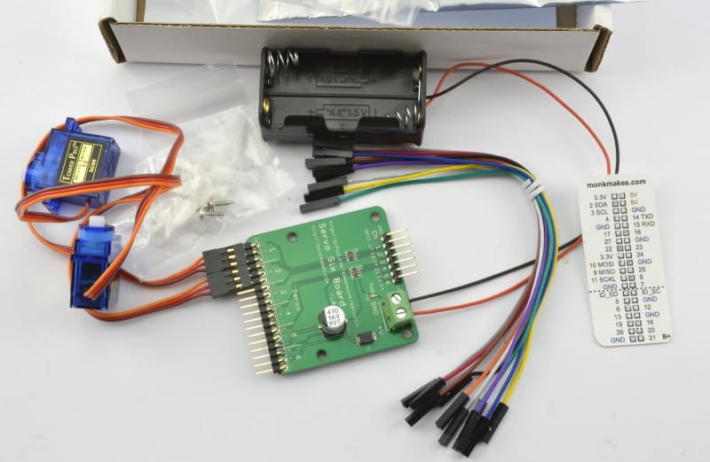 Servo Kit for Raspberry Pi - Breakout Boards