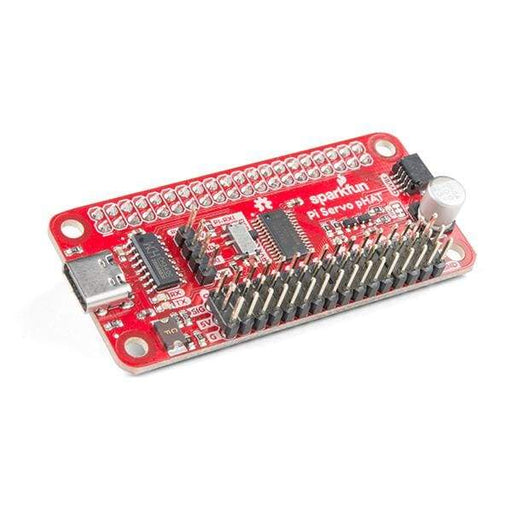 Servo pHAT for Raspberry Pi (DEV-15316) - Raspberry Pi