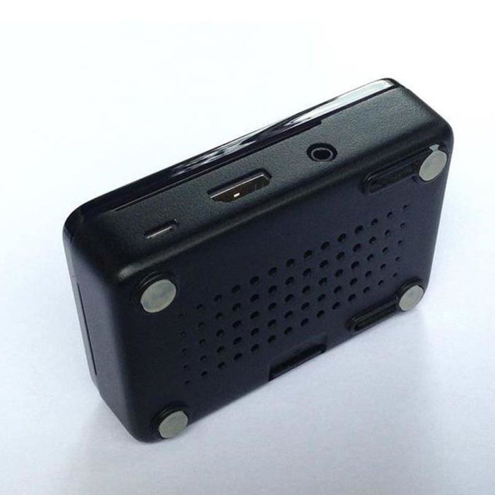 Short Crust Plus Expandable Case For Raspberry Pi With Smoke Cover - Raspberry Pi Enclosures