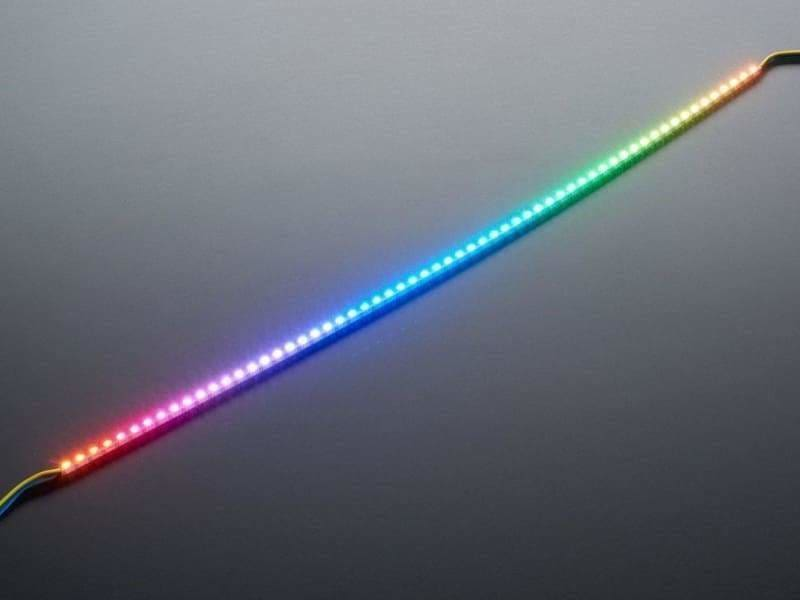 Side Light Neopixel Led Pcb Bar - 60 Leds - 120 Led/meter - 500Mm Long (Id: 3729) - Leds