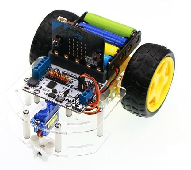 Smart Car Chassis For Bbc Micro:bit - Micro:bit