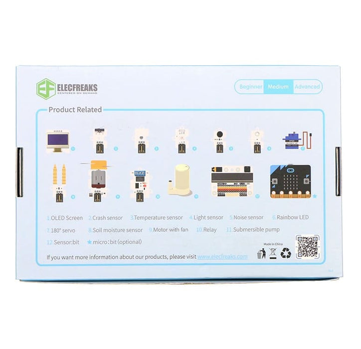 Smart Home Kit for BBC micro:bit (micro:bit not included) - Micro:bit