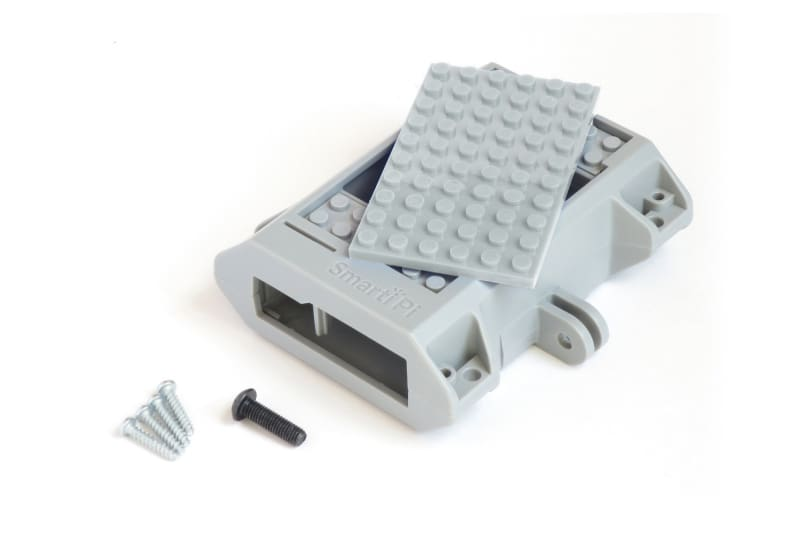 Smartipi Kit #1 - Smarti Case - Grey - Raspberry Pi Enclosures