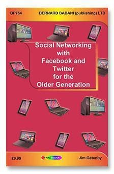 Social Networking with Facebook and Twitter for the Older Generation - Books