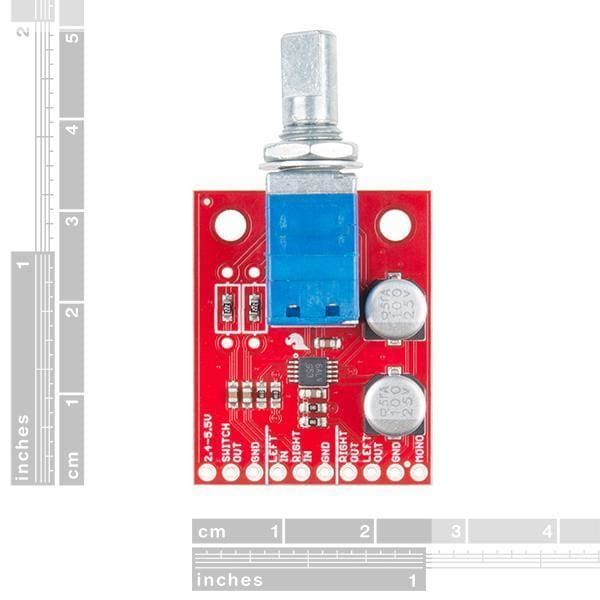 Sparkfun Noisy Cricket Stereo Amplifier - 1.5W (Dev-14475) - Audio
