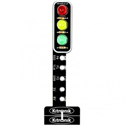 Stop:bit - Traffic Light For Bbc Micro:bit - Leds