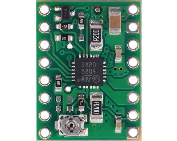 Stspin820 Stepper Motor Driver Carrier - Motion Controllers