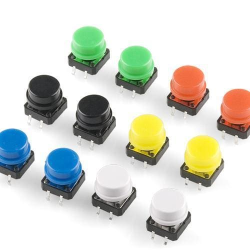 Tactile Button Assortment - Buttons