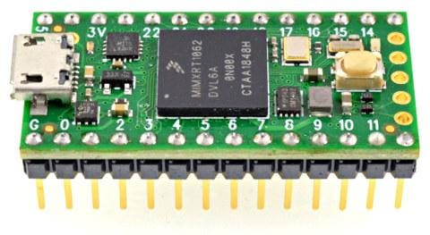 Teensy 4.0 USB Development Board - With Pins Soldered - Cortex Dev Boards