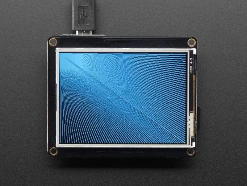Tft Featherwing - 2.4 320X240 Touchscreen For All Feathers (Id: 3315) - Lcd Displays