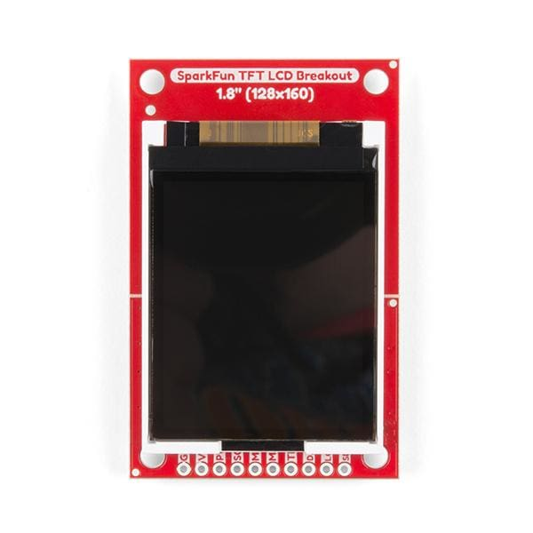 TFT LCD Breakout - 1.8 (128x160) (LCD-15143) - LCD Displays