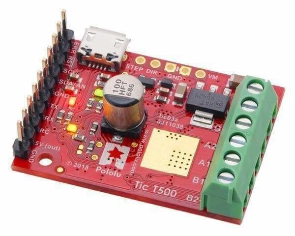 Tic T500 Usb Multi-Interface Stepper Motor Controller - Motion Controllers
