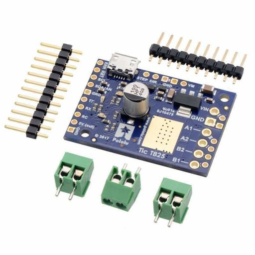 Tic T825 Usb Multi-Interface Stepper Motor Controller - Motion Controllers