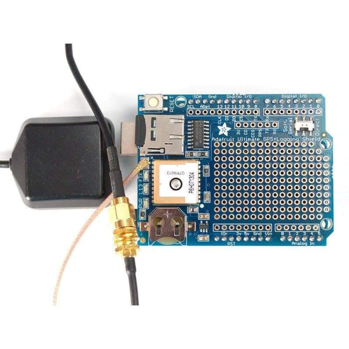 Ultimate Gps Logger Shield - Includes Gps Module (Id: 1272) - Gps