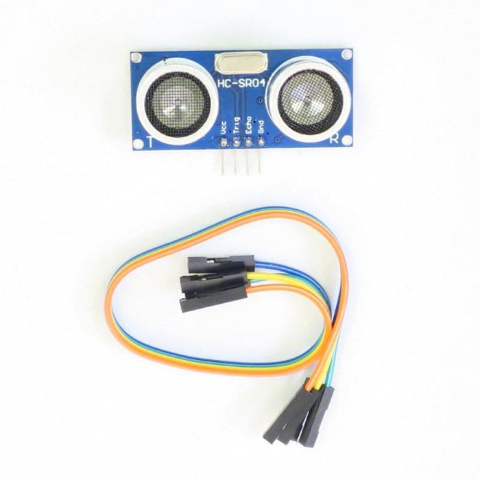 Ultrasonic Distance Sensor Hc-Sr04 With Jumper Wires - Ultrasonic