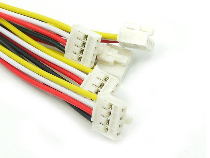 Universal 4 Pin Buckled 20Cm Cable (5 Pcs Pack) - Grove