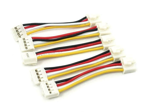 Universal 4 Pin Buckled 5Cm Cable (5 Pcs Pack) - Grove