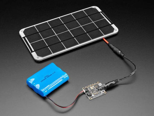Universal USB / DC / Solar Lithium Ion/Polymer charger (bq24074) - Component