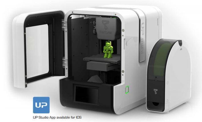 Up Mini 2 3D Printer - 3D Printing