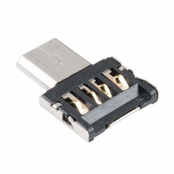 Usb A To Micro-B Adapter (Com-14567) - Cables And Adapters