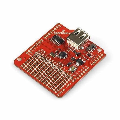 Usb Host Shield (Dev-09947) - Shields