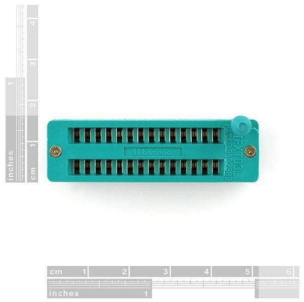 Zif Socket 28-Pin 0.3 Inch - Breakout Boards