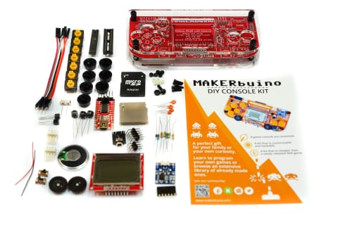MAKERbuino Build Your Own Video Game Console DIY STEM Learning Kit