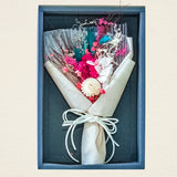 Box Packed artificial bouquet for gifting