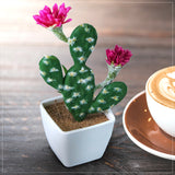 Artificial Mini Flower Cacti Plant