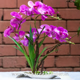Artificial Orchid Bridge-Pot
