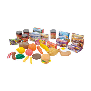 Grocery Play Food Set