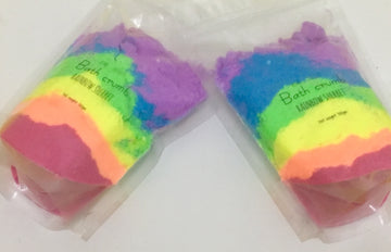 Rainbow sherbet Bath crumb 300gm