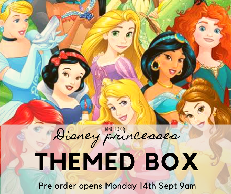 Disney princess themed box