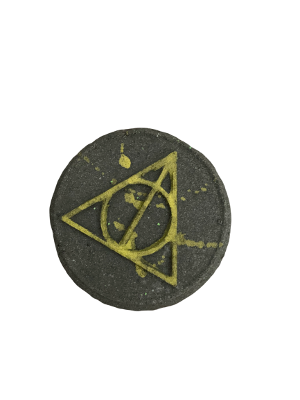 Deathly hallows bath bomb