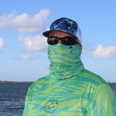 Sun Buff - Face Shield / Tropical Wave