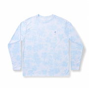 All Over Floral / White - Quick Dry UPF 50+ Mens Long Sleeve