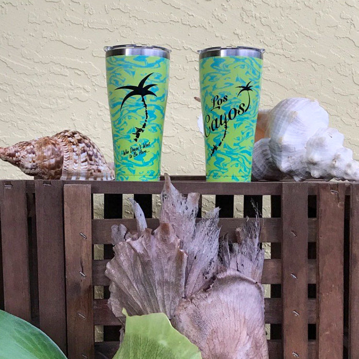 Stainless Steel Tervis Tumbler - Tropical Wave